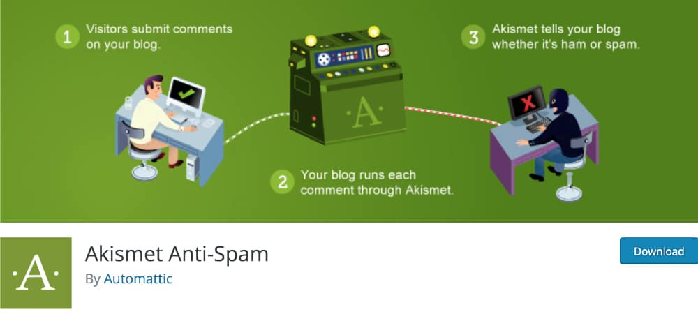 Plugins de WordPress - Akismet-Anti-Spam