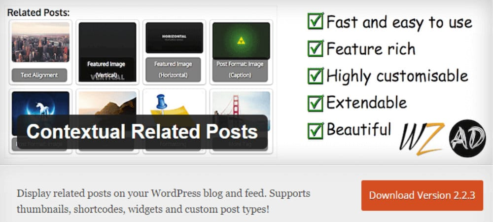 Plugins de WordPress - Contextual-Related-Posts