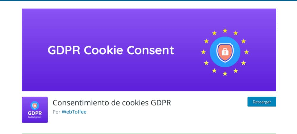 Plugins de WordPress - GDPR-Cookie-Consent