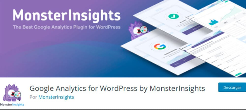 Plugins de WordPress - Google-Analytics-for-Wordpress