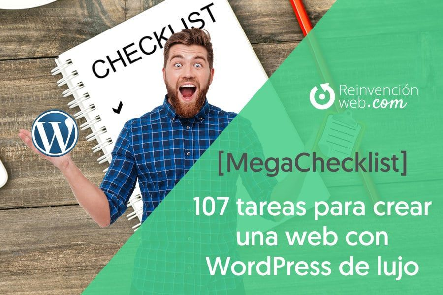 Mega CheckList Tu Web con WordPress