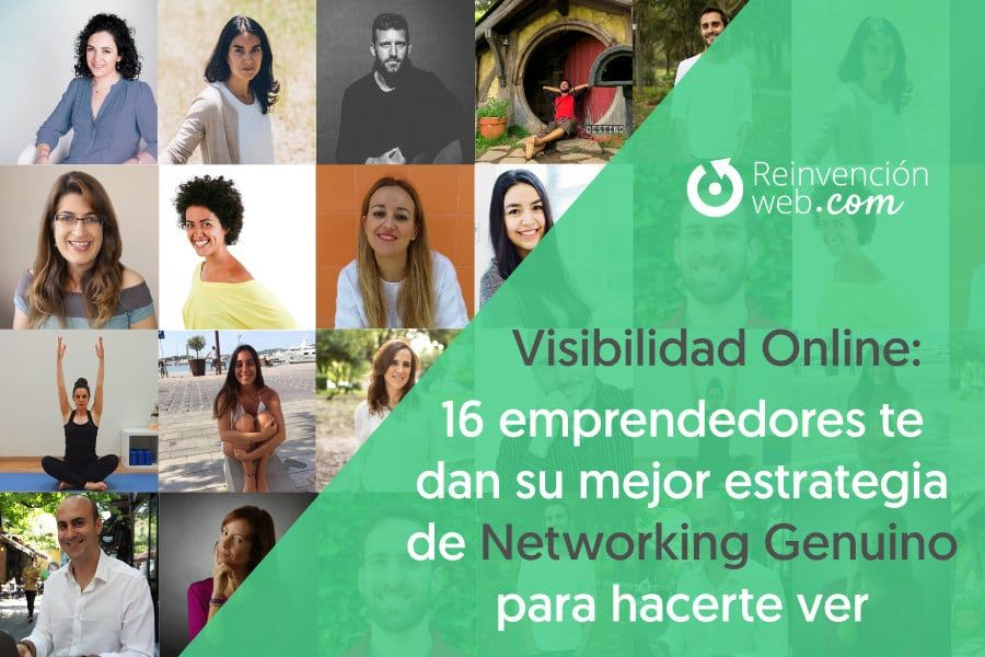 Visibilidad Online - Networking Genuino