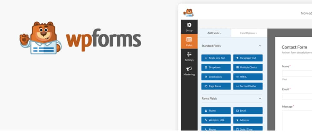 Plugins de WordPress - WP-Forms