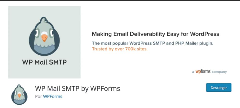 Plugins de WordPress - WP-Mail-SMTP