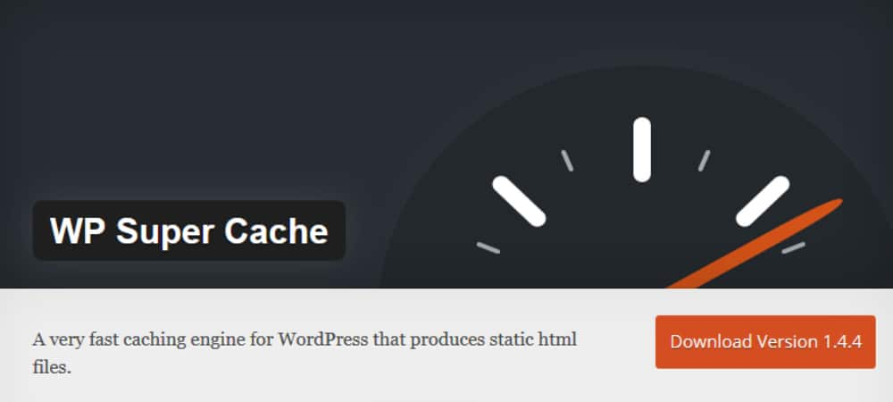 Plugins de WordPress - WP-super-cache