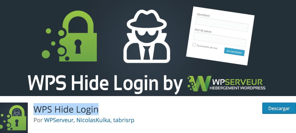 Plugins de WordPress - WPS-Hide-Login