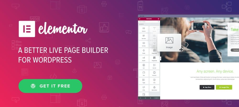 Plugins de WordPress - elementor-page-builder