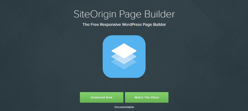 Plugins de WordPress - site-origin-page-builder